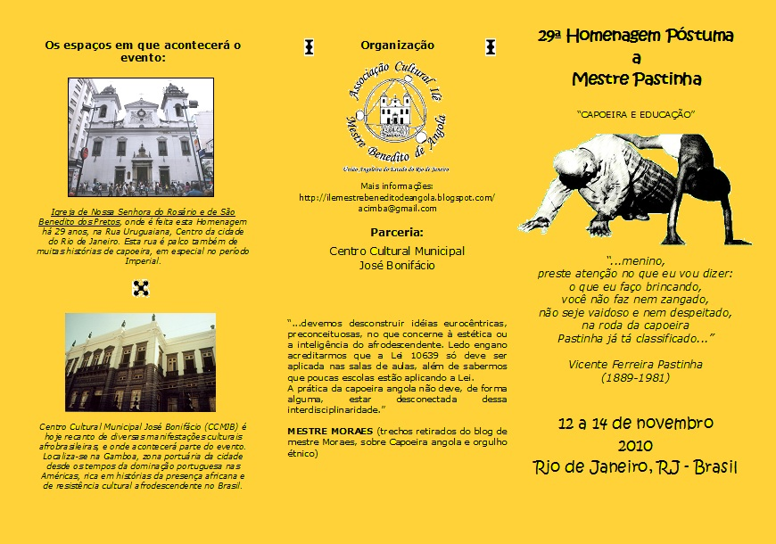 memorial lellia gonzalez capoeira angola