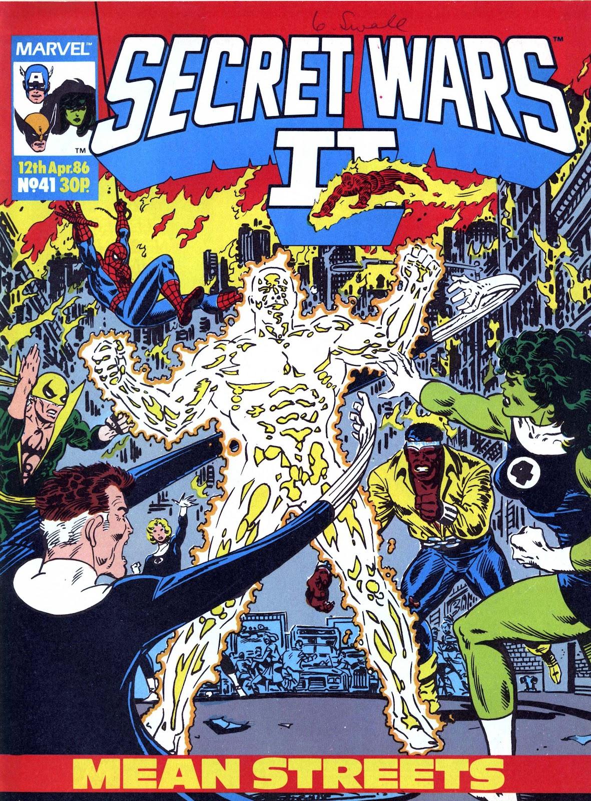 Secret Wars (1985) issue 41 - Page 1