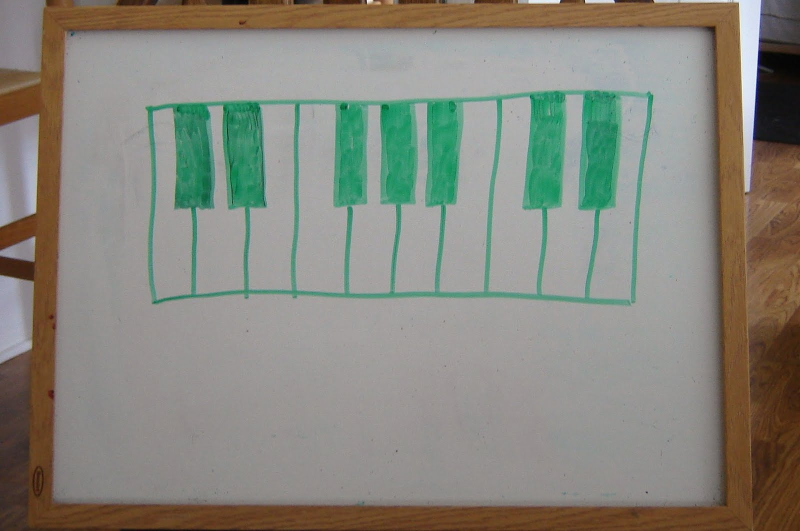 The Piano Studio: Teaching Students To Draw A Keyboard