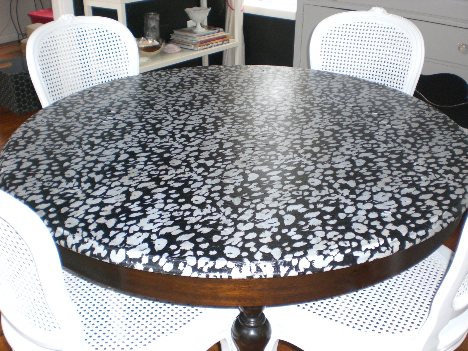 Decoupage Kitchen Table Top