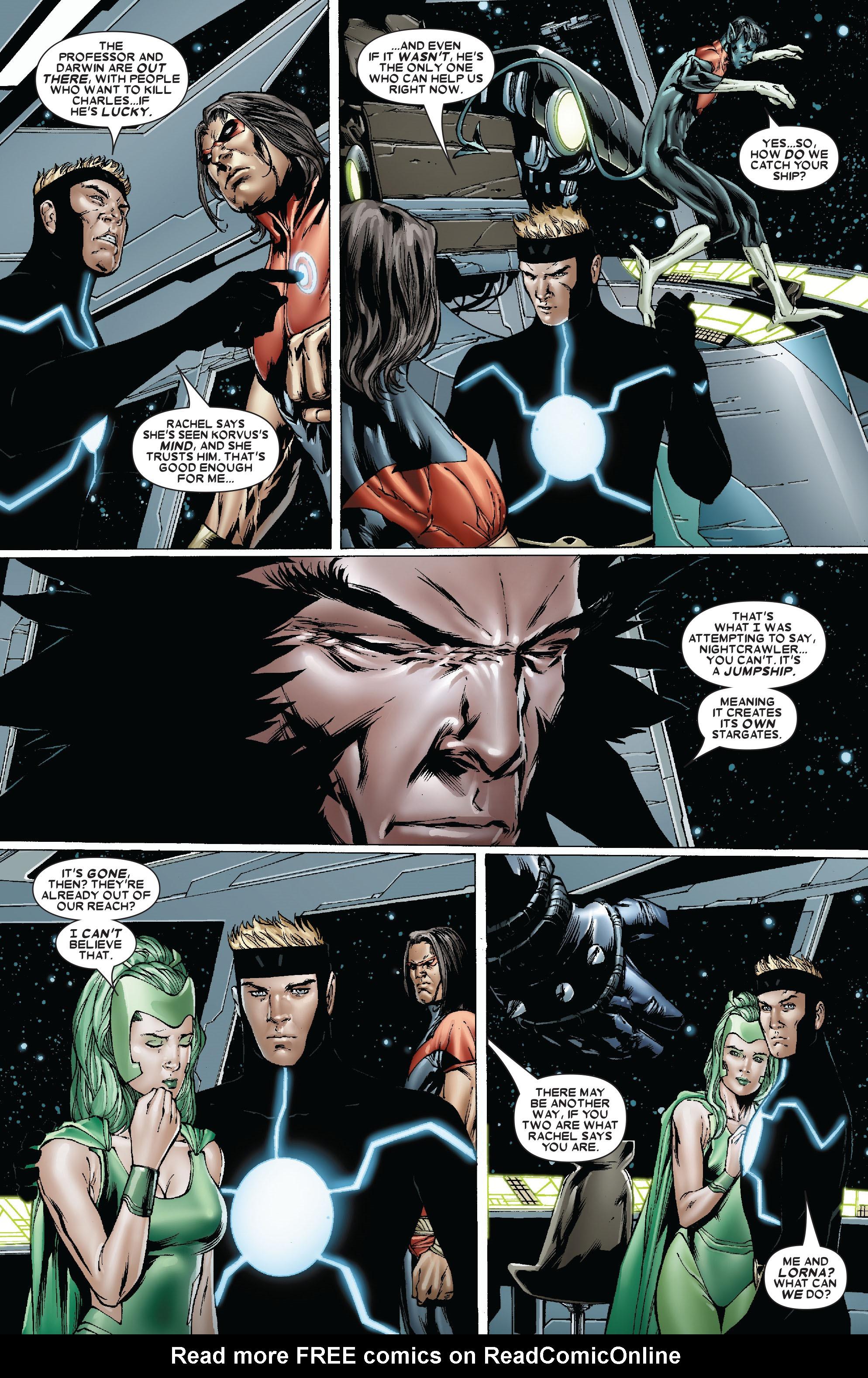Read online Uncanny X-Men (1963) comic -  Issue #481 - 6