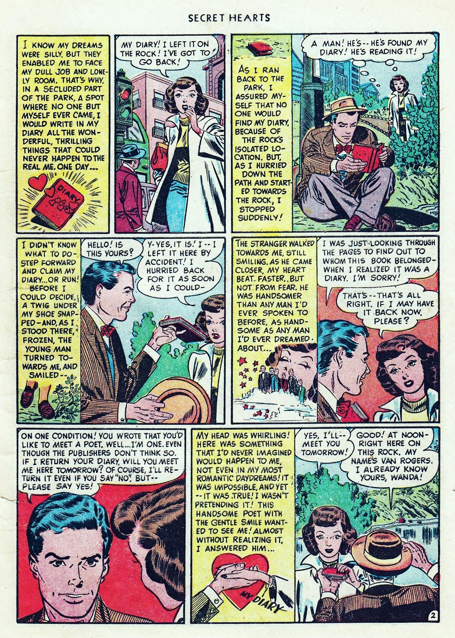 Read online Secret Hearts comic -  Issue #1 - 5