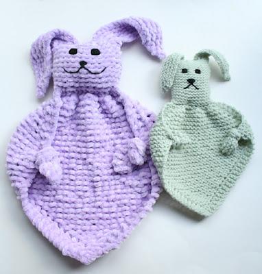 Oiyi's Crafts: Bunny Blanket Buddies