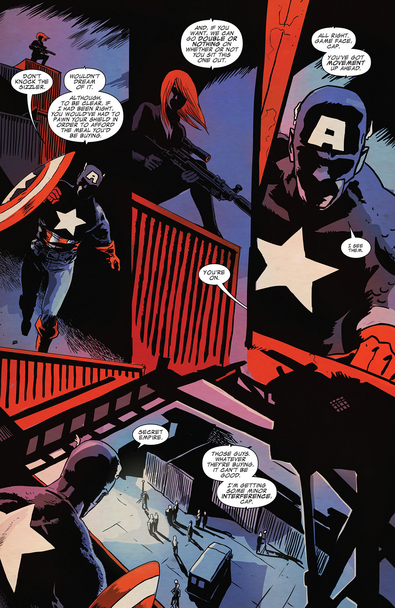 Read online Captain America And Black Widow comic -  Issue #636 - 15
