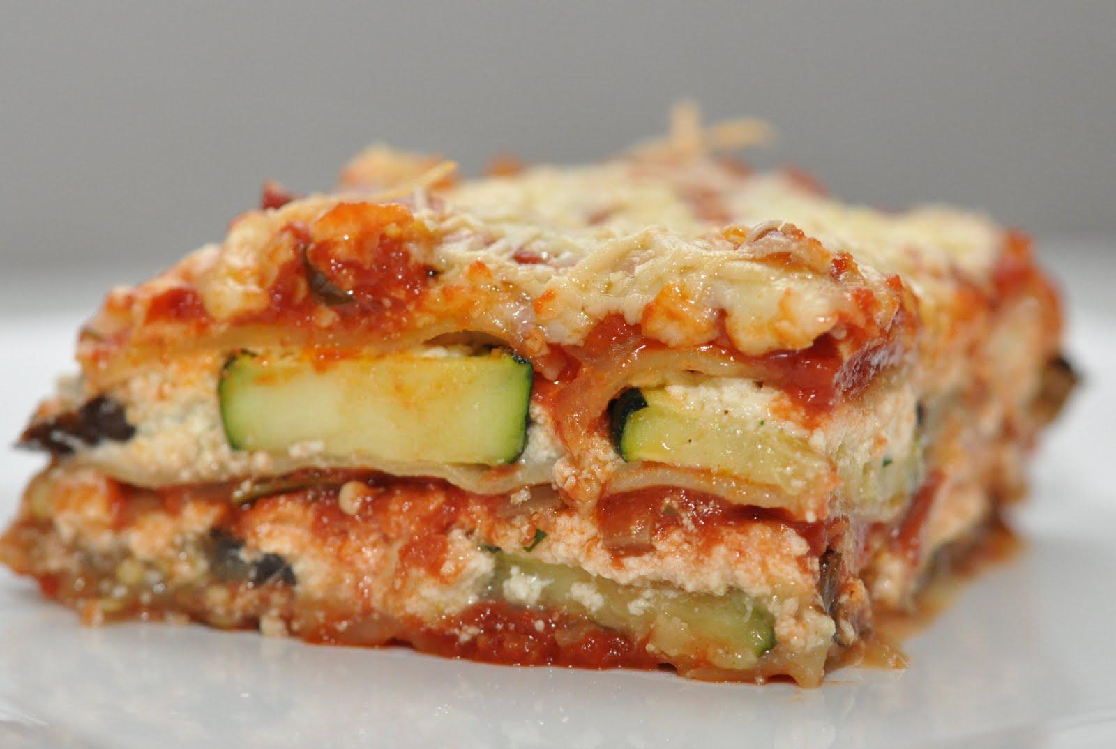 The Recipe Diva: Roasted Zucchini & Eggplant Lasagna
