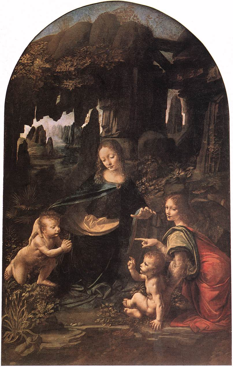 Introduction to the History of Art: The Virgin of the ... Da Vinci Paintings