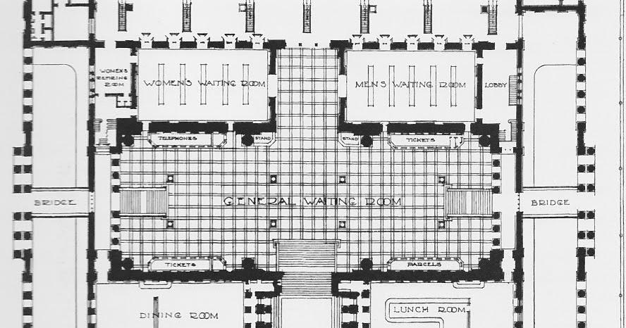Penn Station Pathfinder: Historic Floorplans (1910