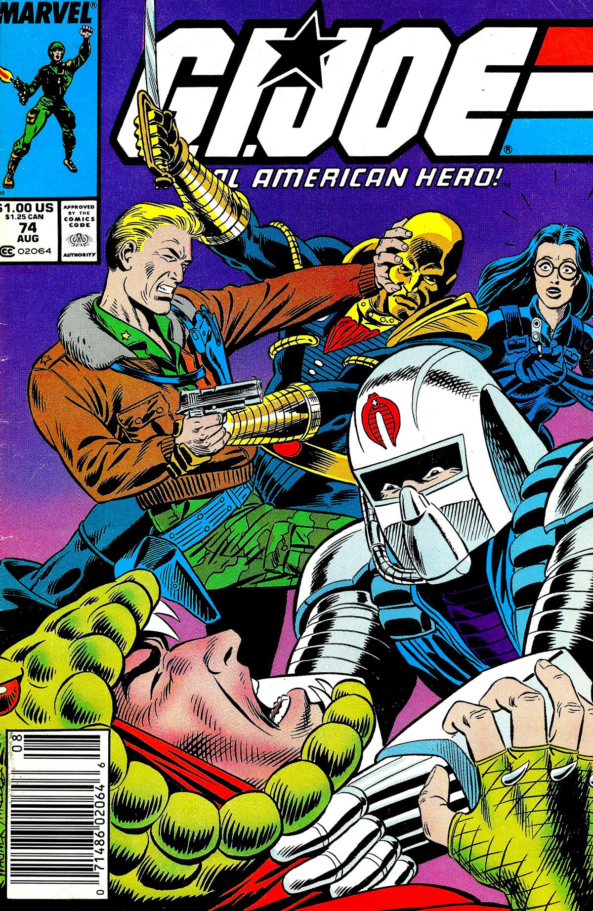 G.I. Joe: A Real American Hero 74 Page 1
