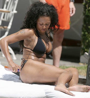 Before: Mel B. Has Some Rolls