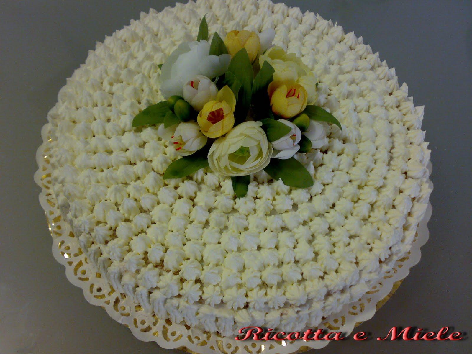 Ricotta E Miele Torta Di Compleanno Per Cintia