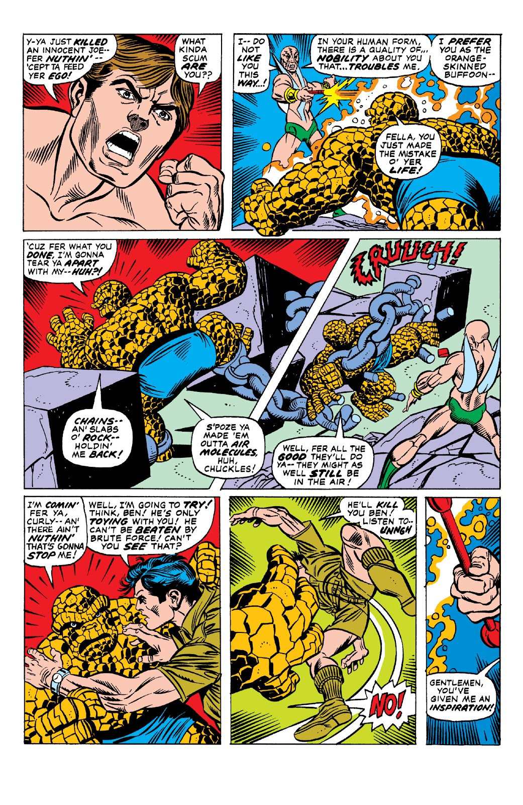 Read online Marvel Two-In-One Epic Collection: Cry Monster comic -  Issue # TPB (Part 1) - 61