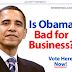 Obama Bad for Business Ads