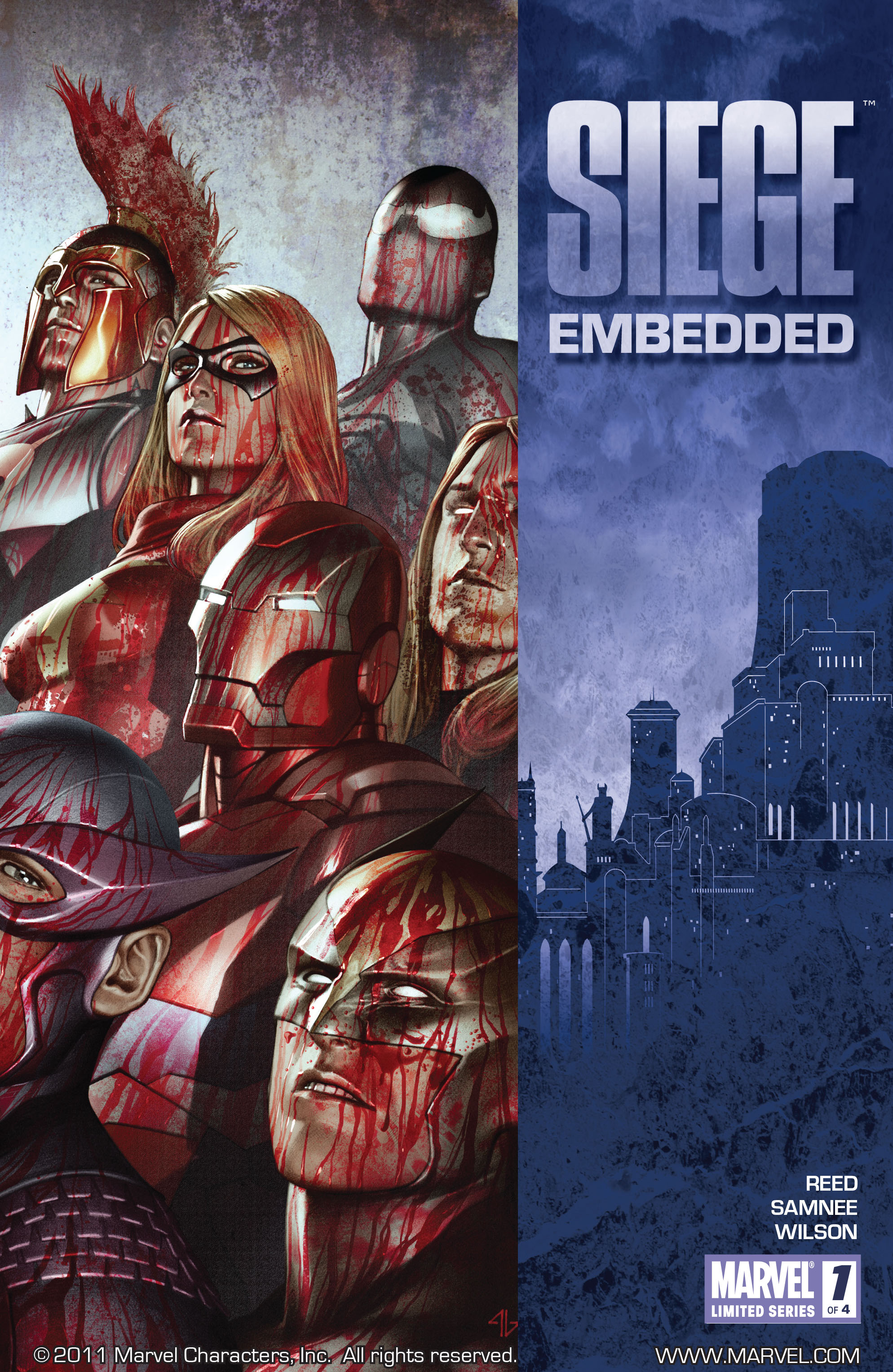 Read online Siege: Embedded comic -  Issue #1 - 1