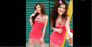 Red Tude Dress