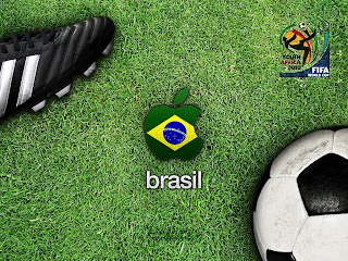 brasil at world cup 2010 wallpaper