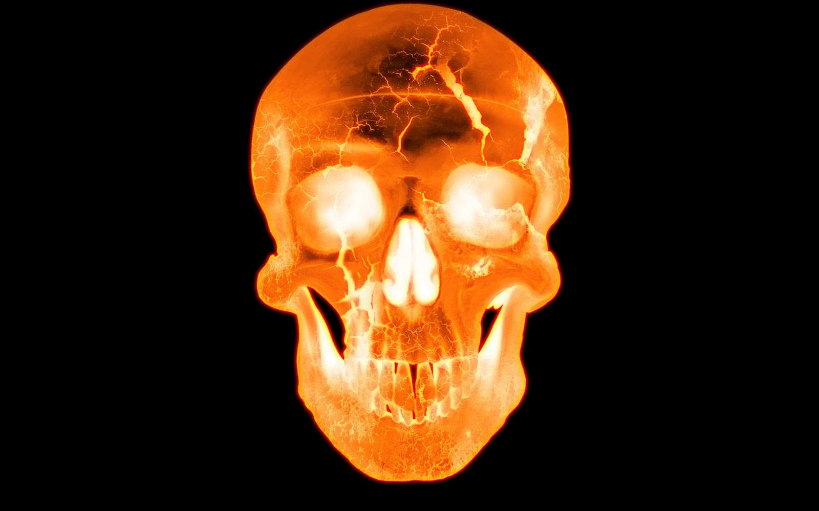 Wall Jhous Nicket 3d Fire Skull Wallpapers