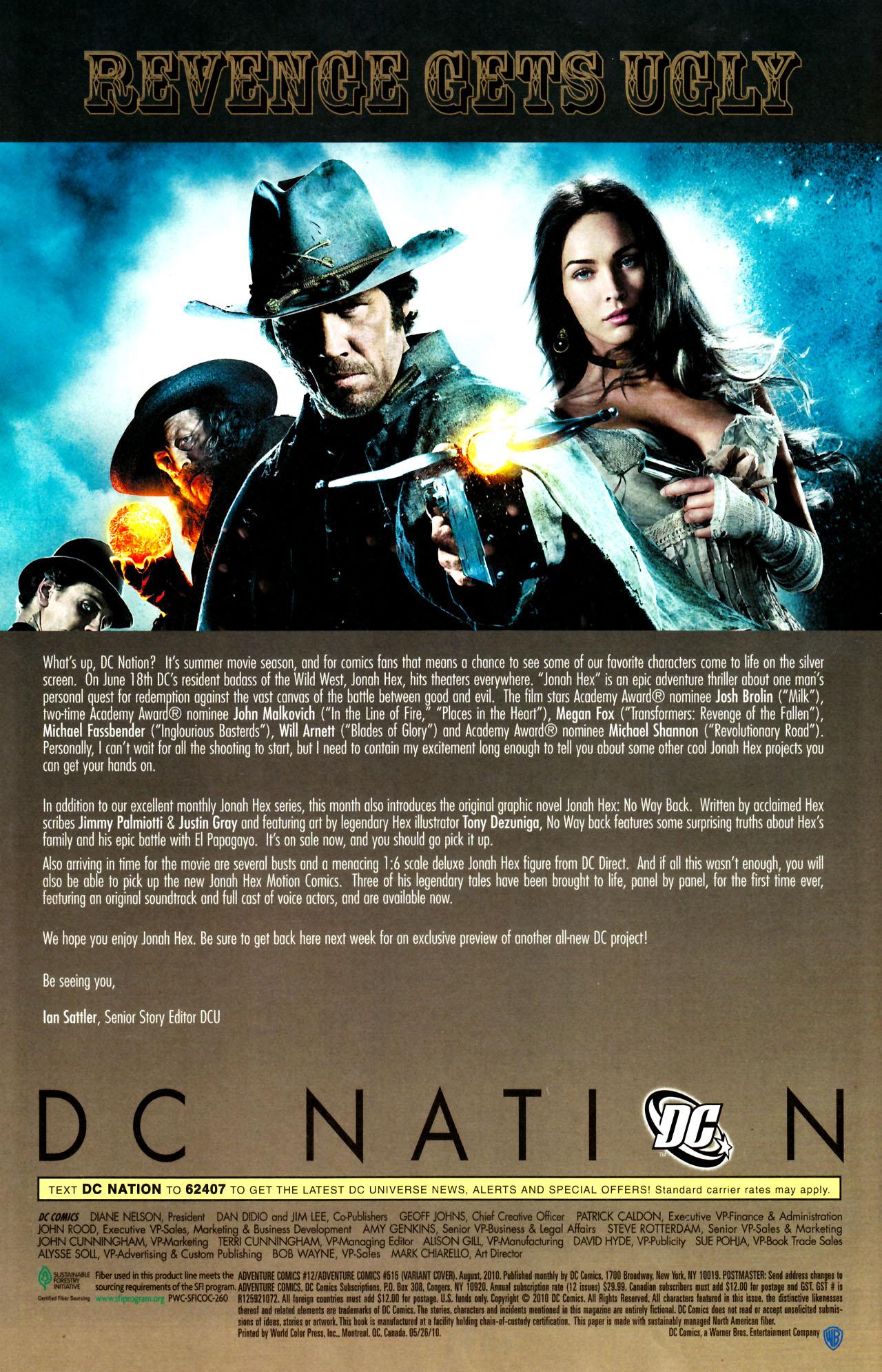 Read online Adventure Comics (2009) comic -  Issue #12 - 38
