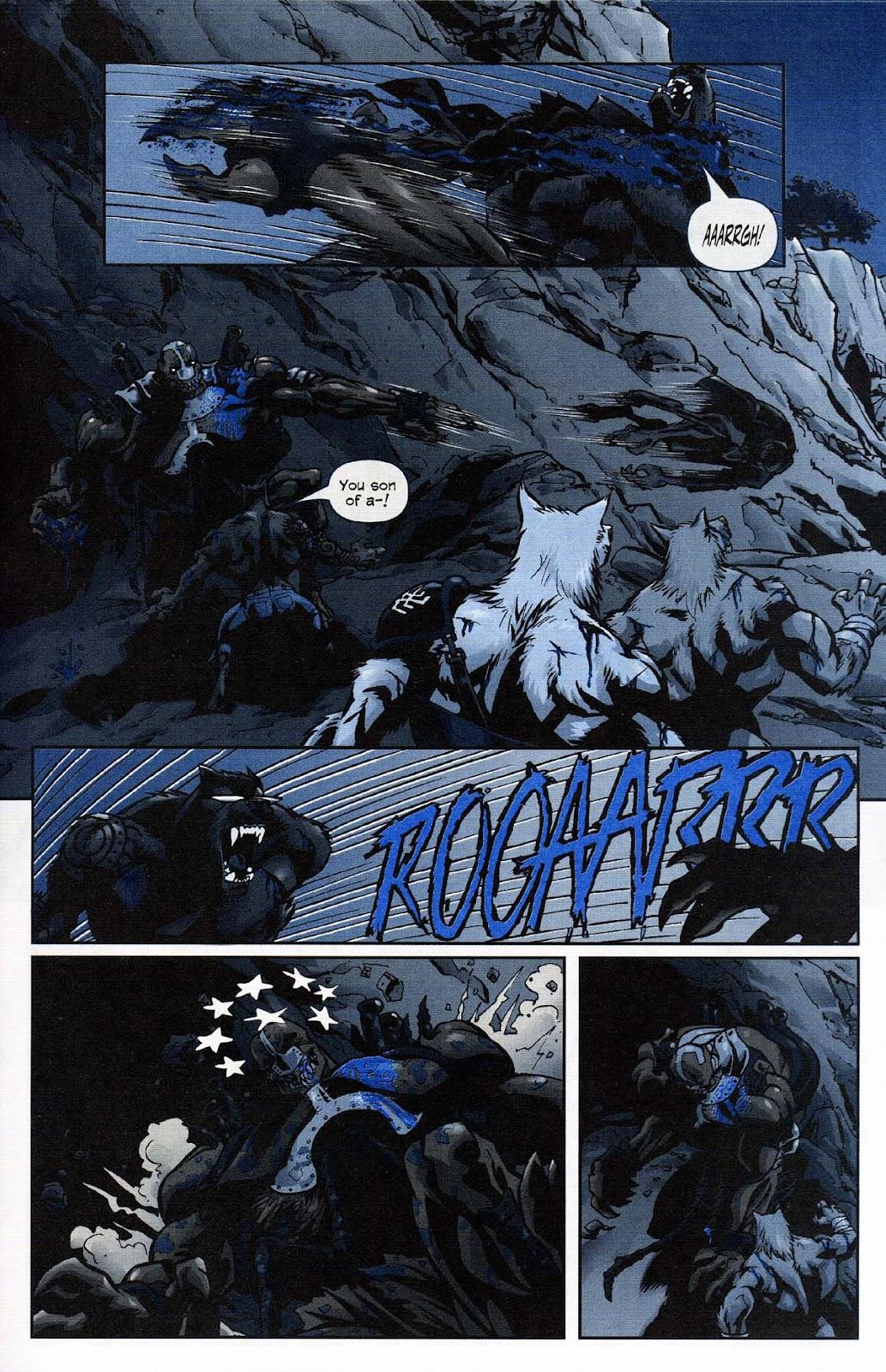 Read online Werewolf the Apocalypse comic -  Issue # Get of Fenris - 35
