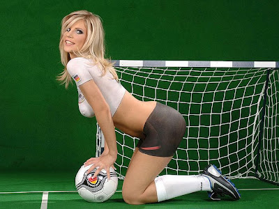 Germany body paint soccer girls
