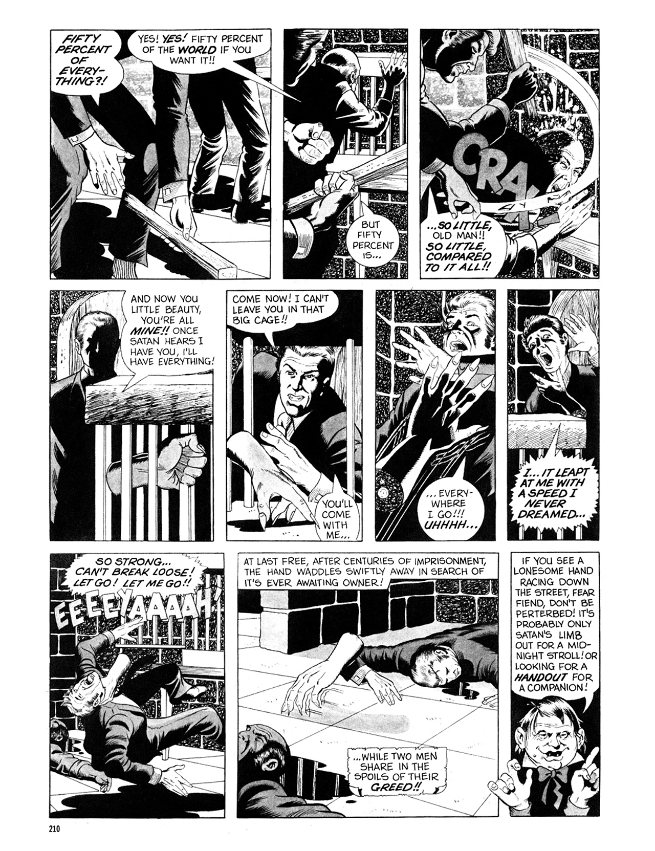 Read online Eerie Archives comic -  Issue # TPB 6 - 210