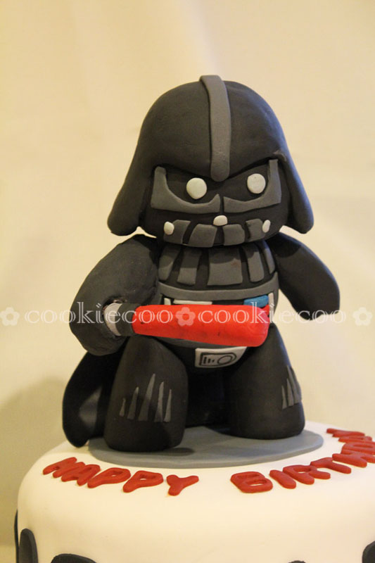 Cookiecoo Starwars Cake Darth Vader For Quot Darth Quot Bader
