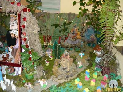 dd379e57999 La elaboración de los Nacimientos Navideños son parte fundamental de las  Tradiciones en las familias de Poptún