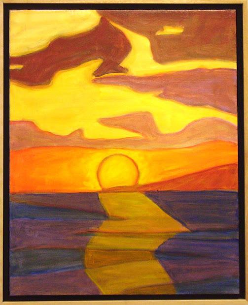 Sunset Art - Web