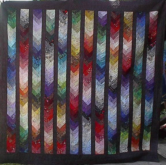 Isabel S Quilts Pioneer Braid Quilt