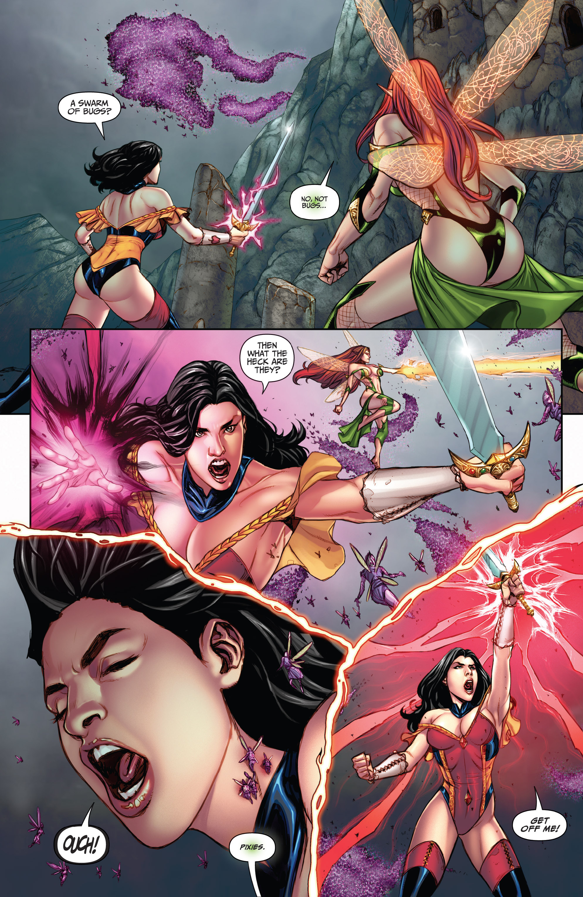 Read online Grimm Fairy Tales (2016) comic -  Issue #5 - 15