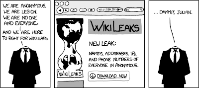 Wikileaks by XKCD comics