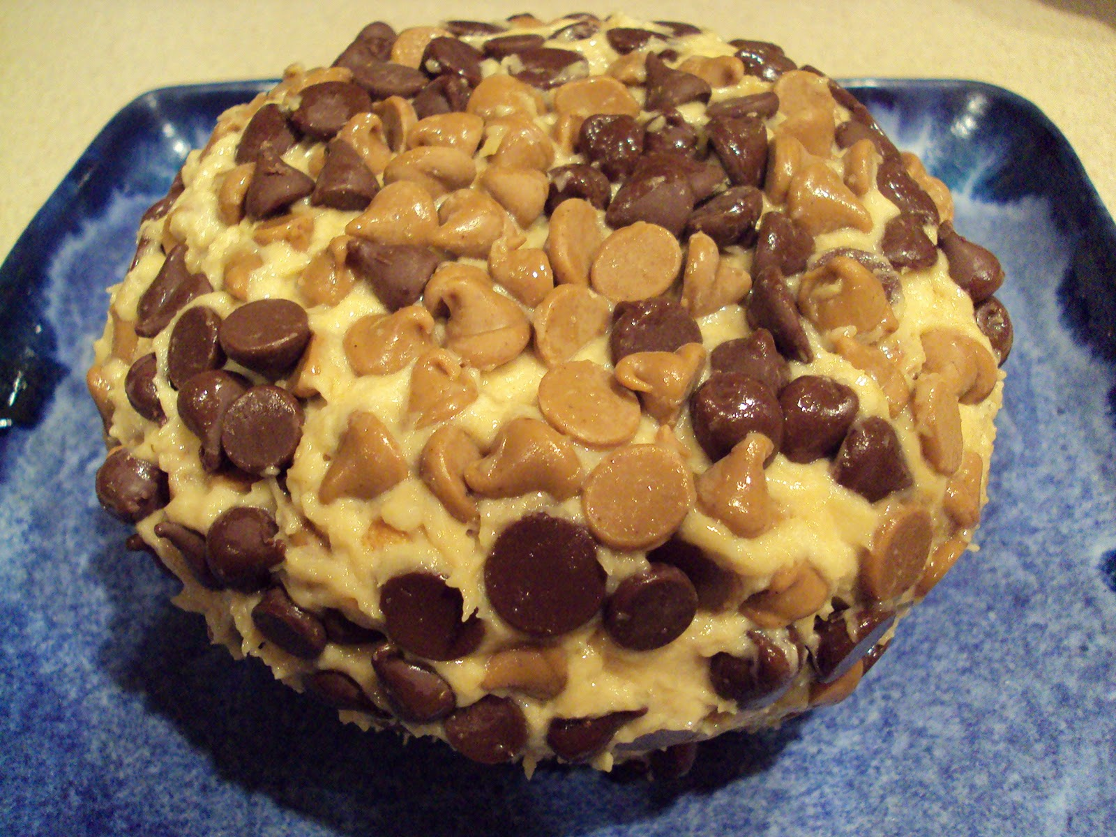 Meal Planning with Connie: Peanut Butter Chocolate Chip Cheese Ball