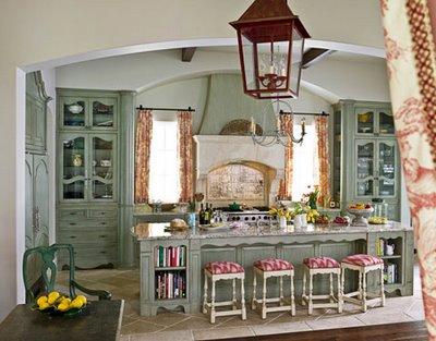 Ecco 15 idee per arredarla con gusto! Shabby Chic Kitchens Interior Design Ideas