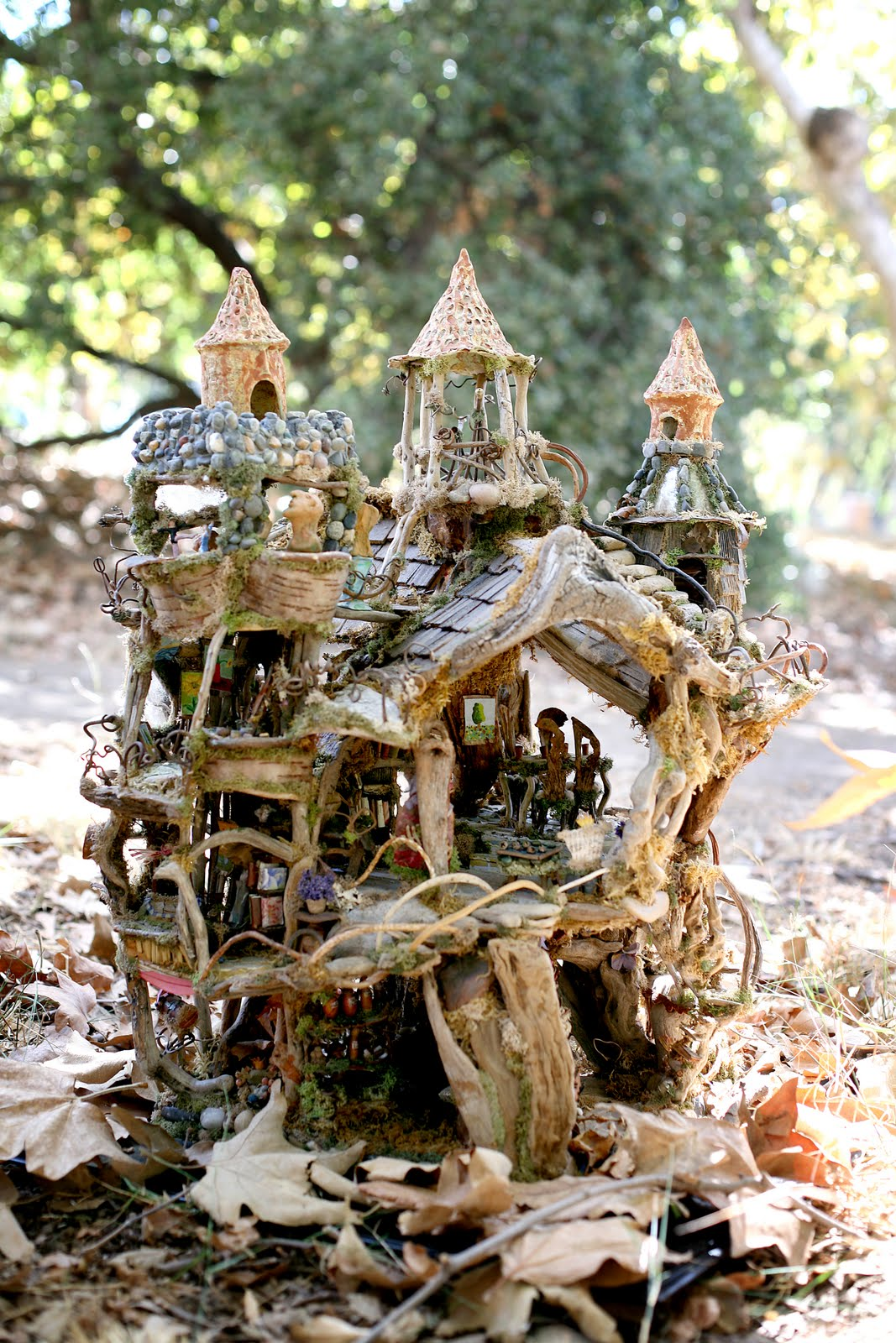 Beautiful Art Fairy Castle More Photos