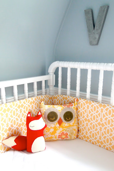 Nursery Feature Violet S Small Sloped Space See Vanessa