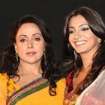 Hot Indian Aunty Hema Malini At Tv Serial Seeta Aur Geeta Launch Photo Gallery