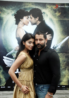 Shriya and Vikram in Mallanna Success Meet