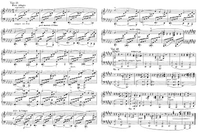 Brahms op. 9, variations 15 and 16