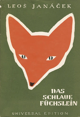 bright red fox