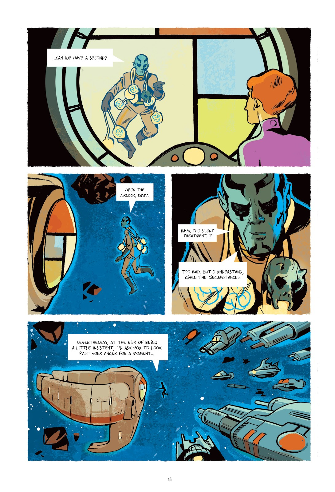 Read online Infinity 8 comic -  Issue # _TPB 3 - 65