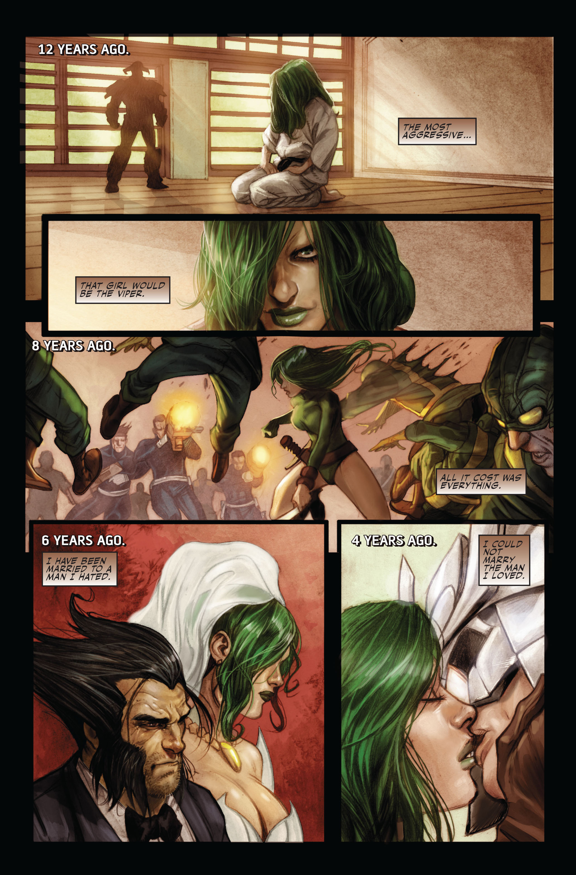 Read online Secret Warriors comic -  Issue #15 - 12