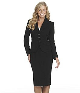 ce65487a6aa And here is a super cute skirt suit from Dillards. I love the buttons and  the length of the skirt. It just screams HIRE ME!!