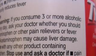 It's Pub Night: Alcohol vs  Acetaminophen