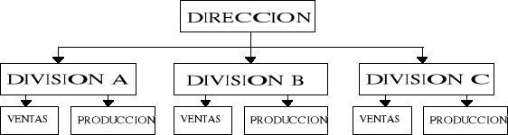 Organizacion Organización Matricial