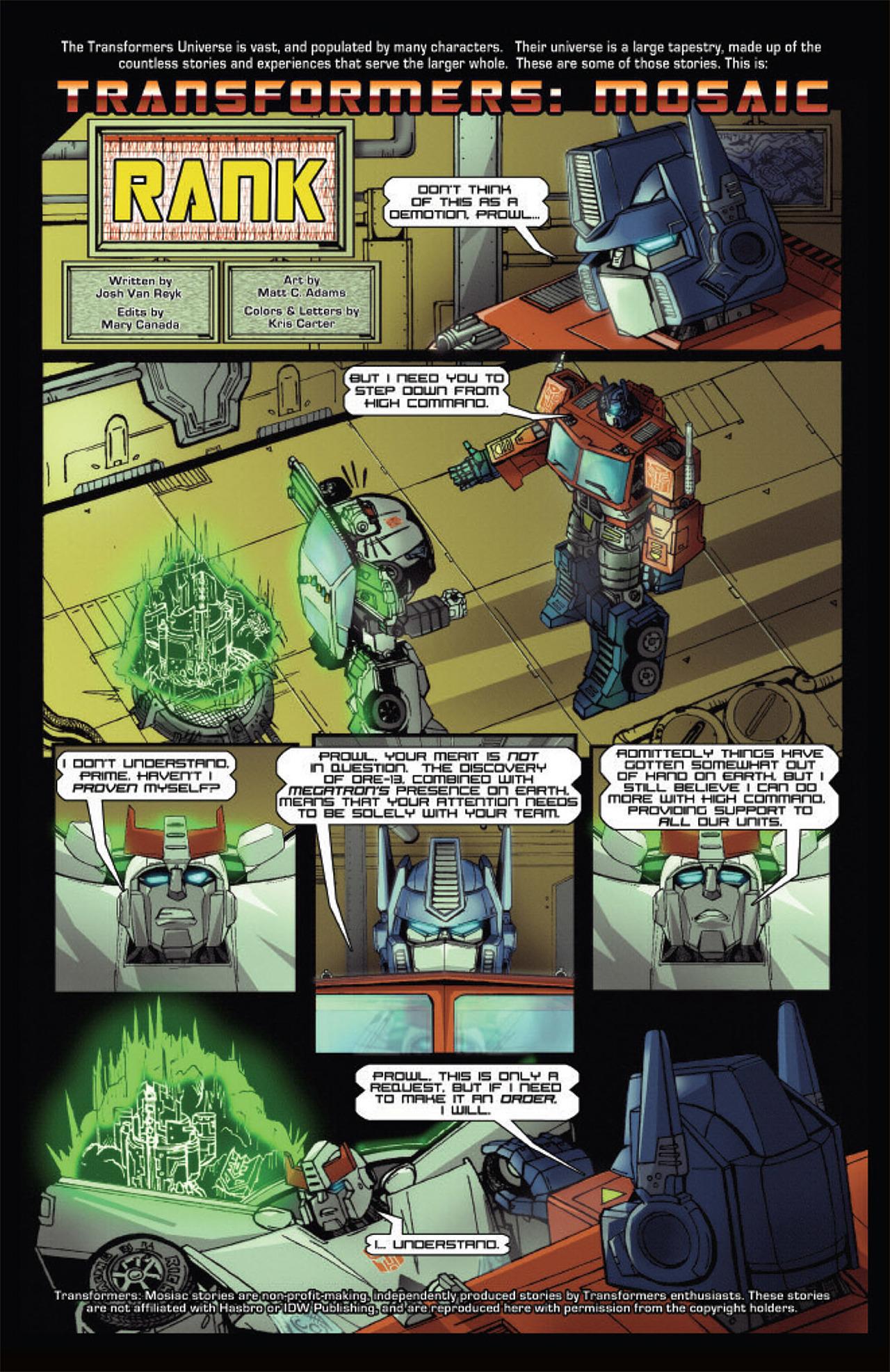 Read online Transformers Spotlight: Grimlock comic -  Issue # Full - 4