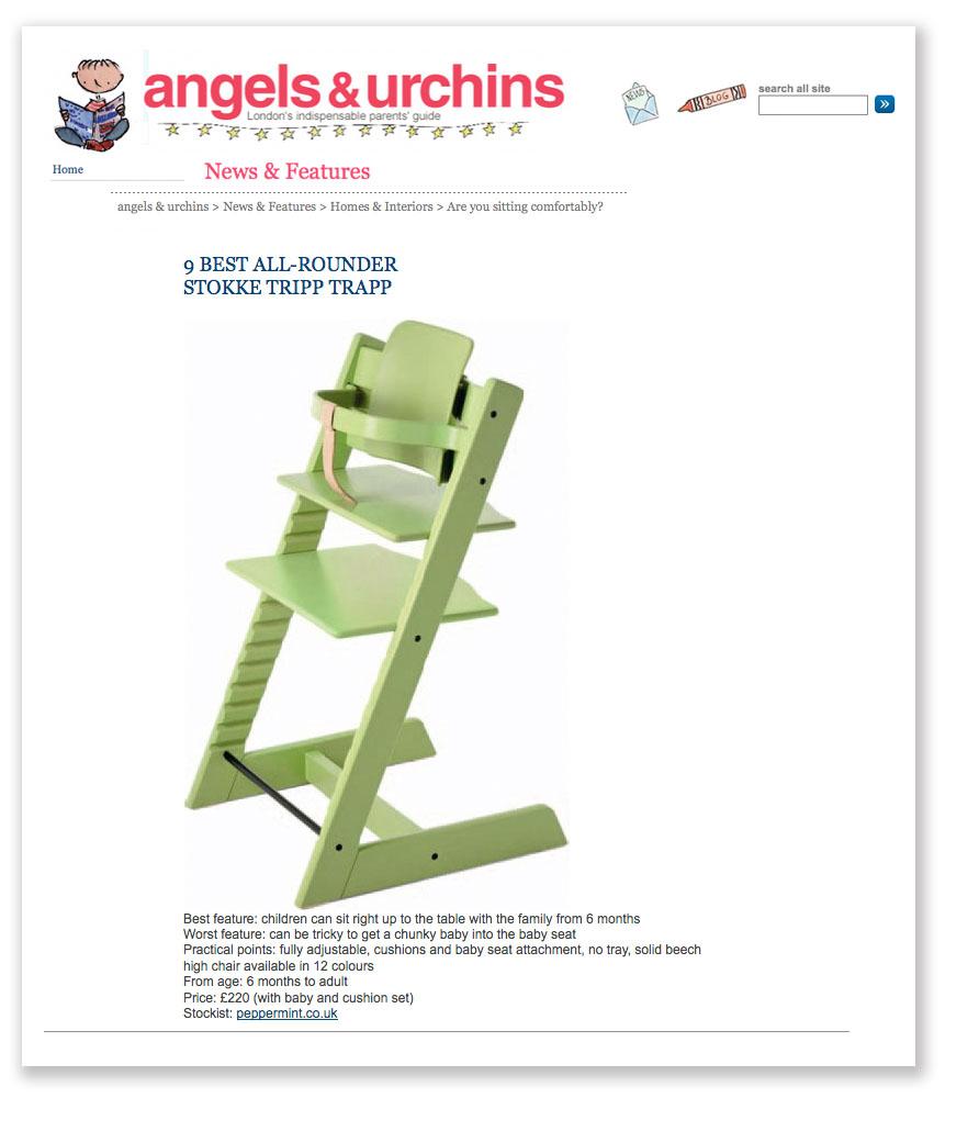 Tripp Trapp Best All-Round Chair Angels & Urchins
