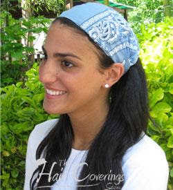 0550fb6a38a7b This was a cute and stylish bandana style head band! My girls loved it and  fought over it right away!! I loved the fact that it stays tied!