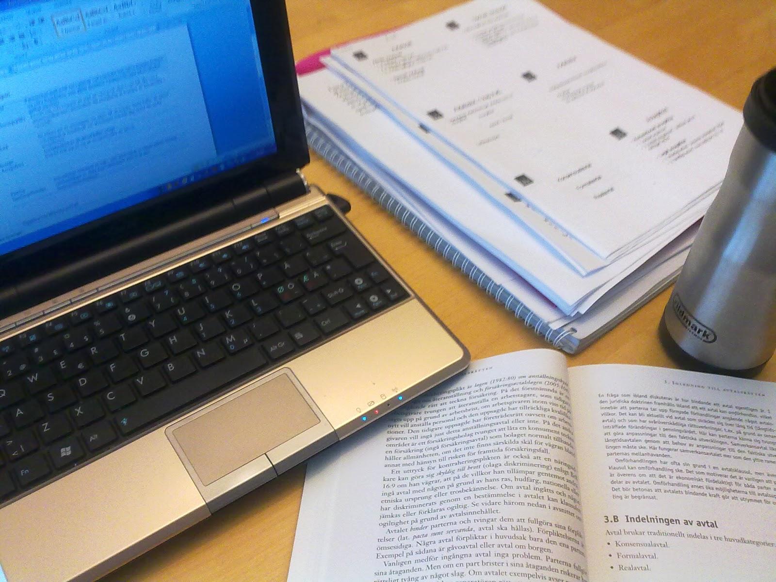 Jag försöker banka in avtalsrätt i huvudet så att jag ska kunna skriva  tenta på lördag. Men jag tycker att jag förstår det precis lika bra som  sist då jag ... 935e629a7ade4
