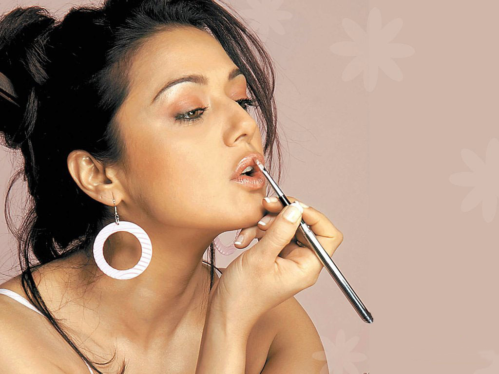Preity Zinta Hot And Beauty Pics - Bollywood Wallpapers-6489