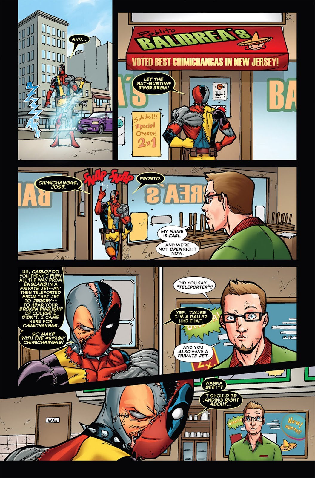 Read online Deadpool (2008) comic -  Issue #45 - 21