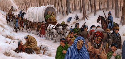 Image result for andrew jackson trail of tears indian removal act